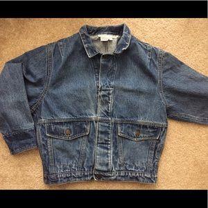 Vintage Calvin Klein Sport Petite Denim Jacket